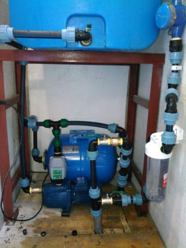 Установка насосов в скважины